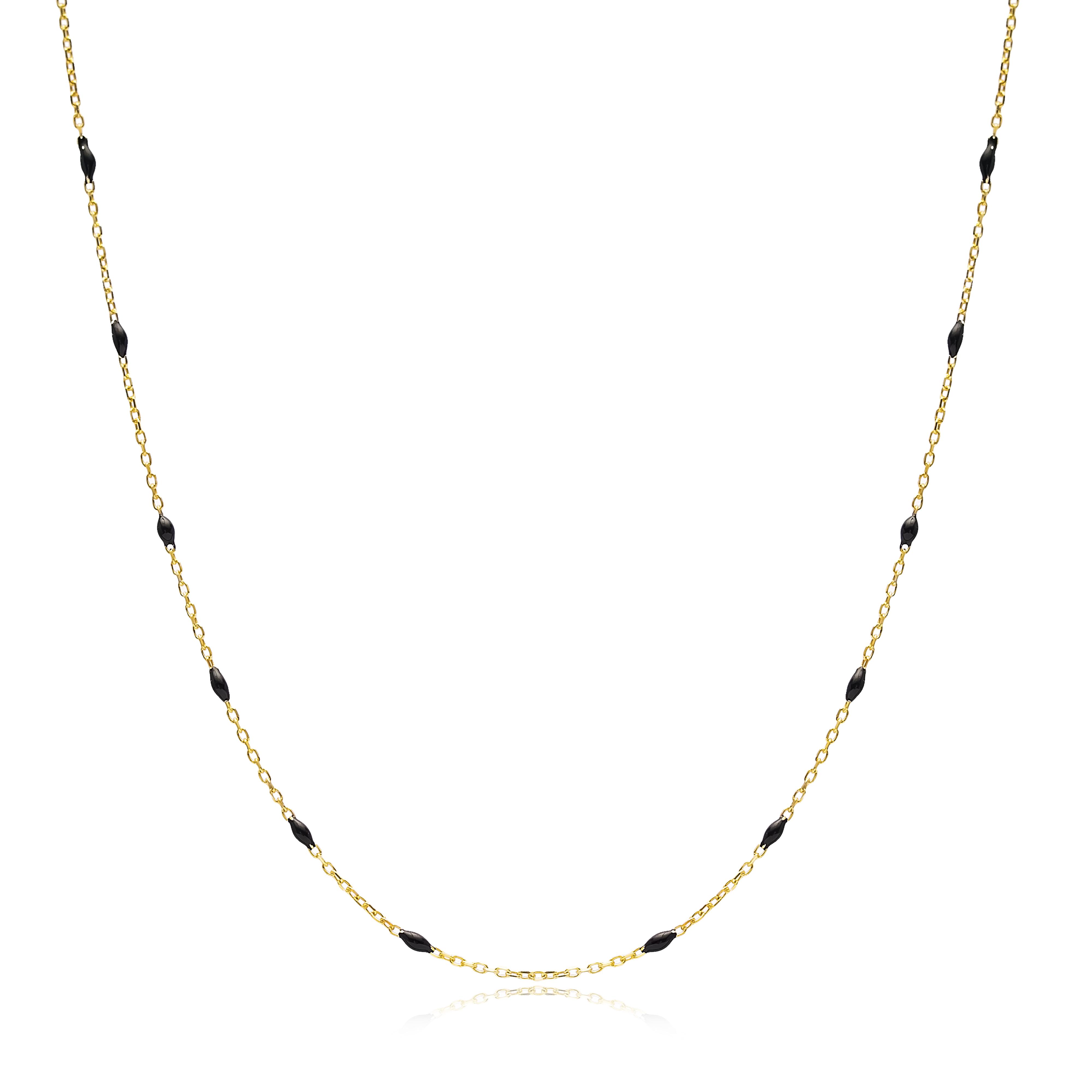 Silvia necklace black