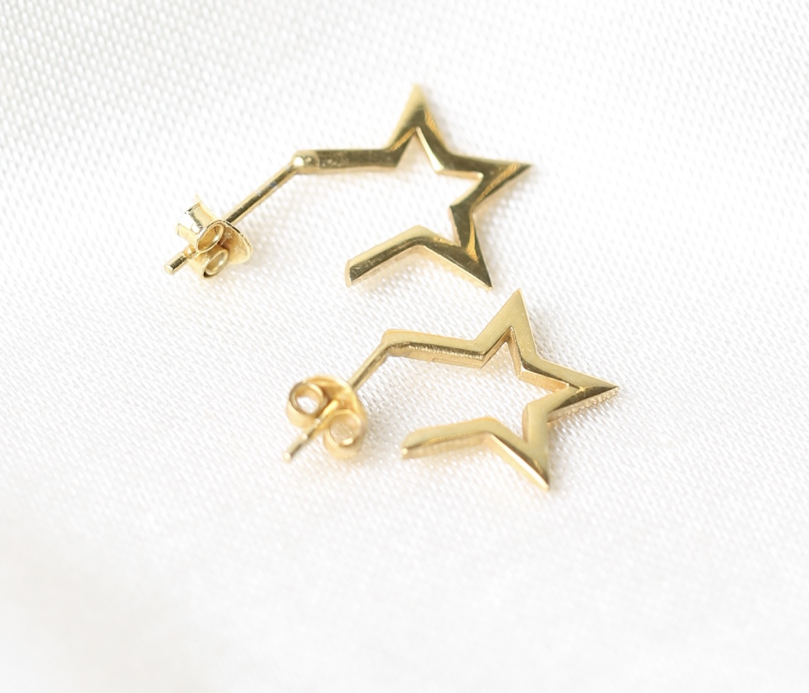 Star chick mini earrings