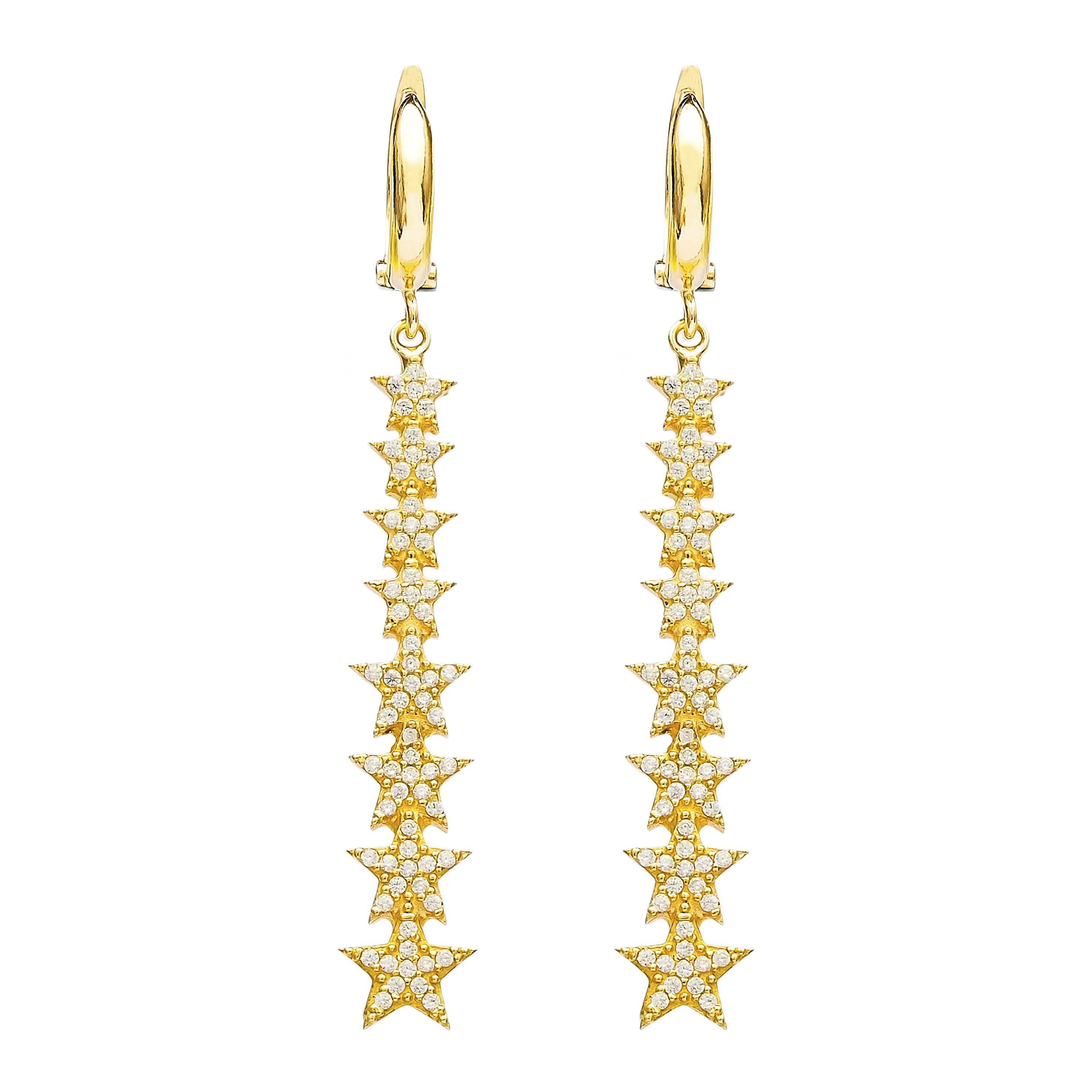 Star Cascade Earrings