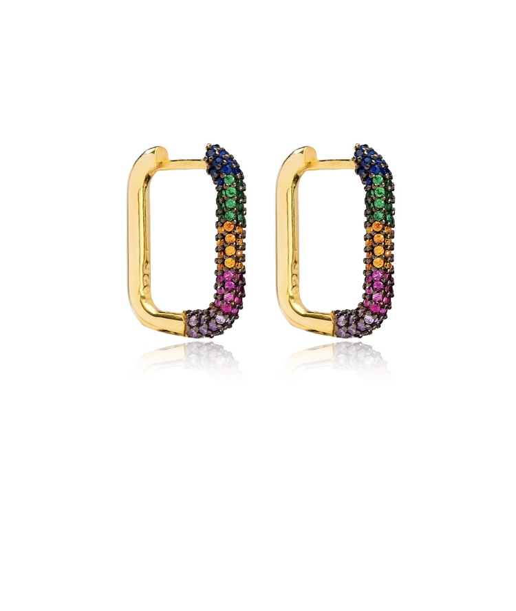 Lux Rainbow Earrings