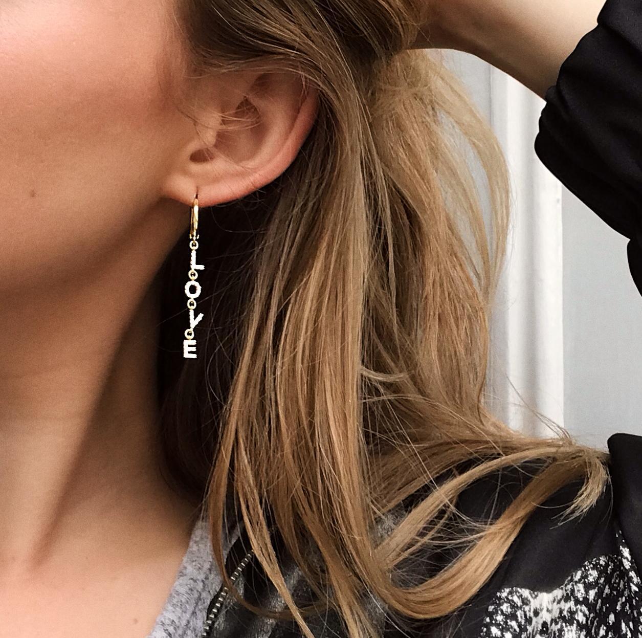True love earring
