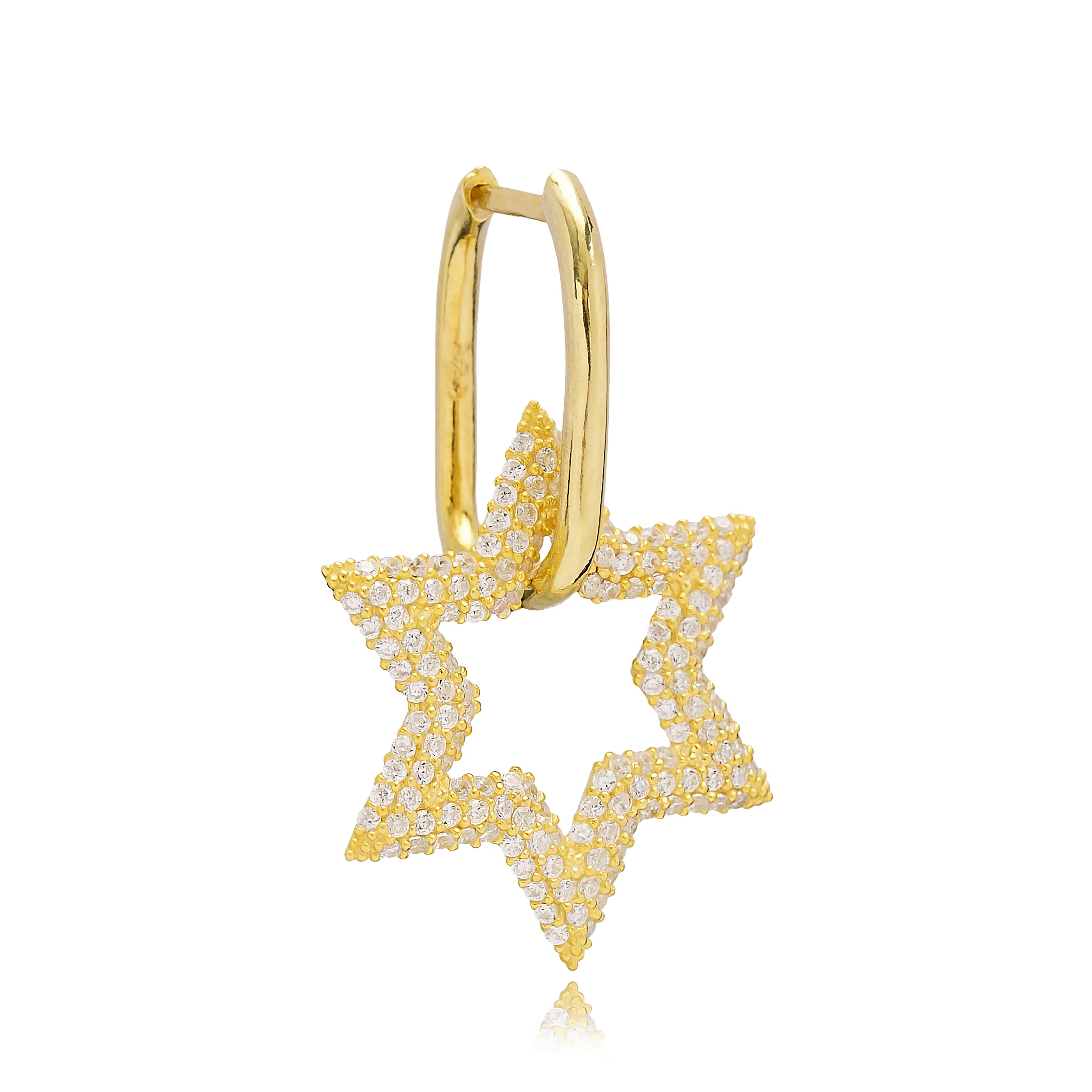 Single star Earring