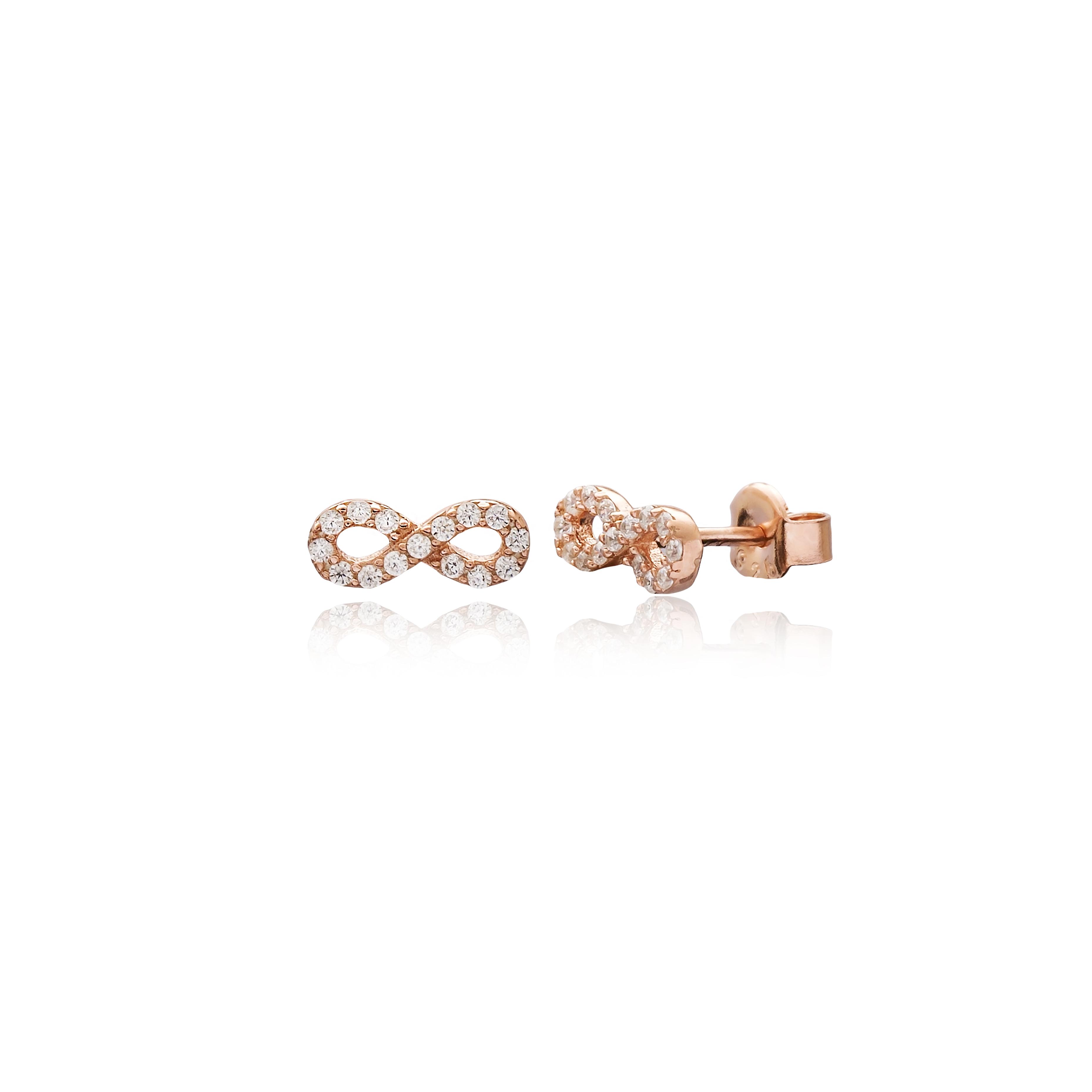Mini Infinity Earrings