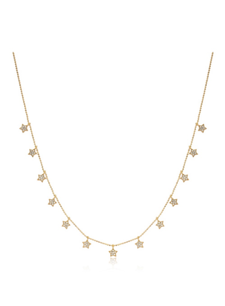White Star Necklace