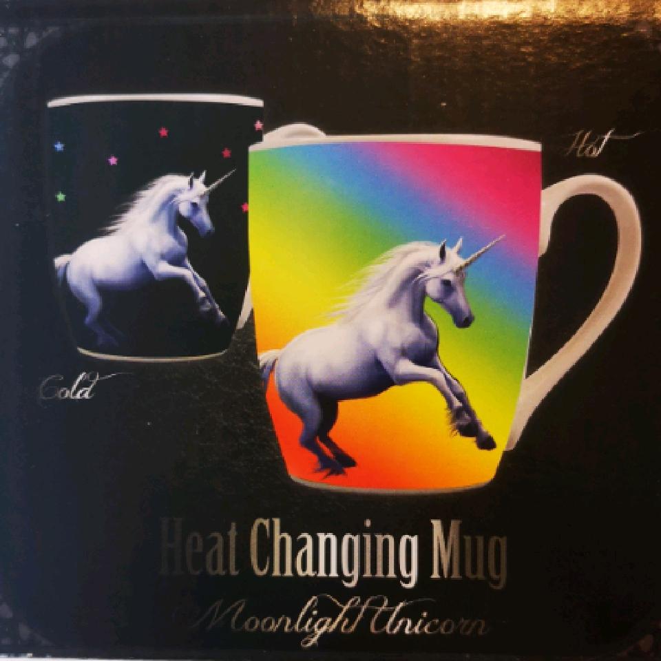 Anne Stokes Heat Changing Mug Unicorn