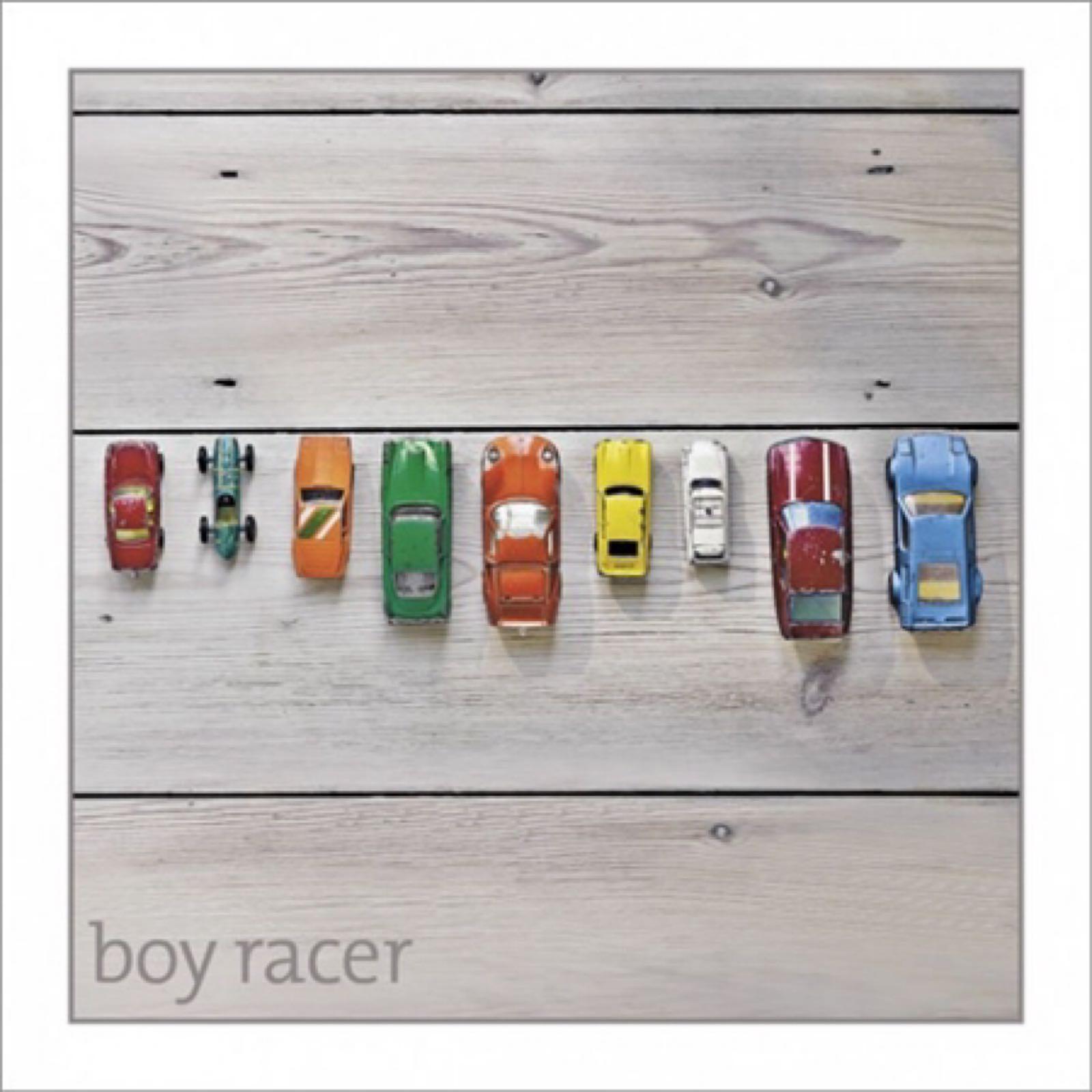 'Boy Racer' Silver Edition Card