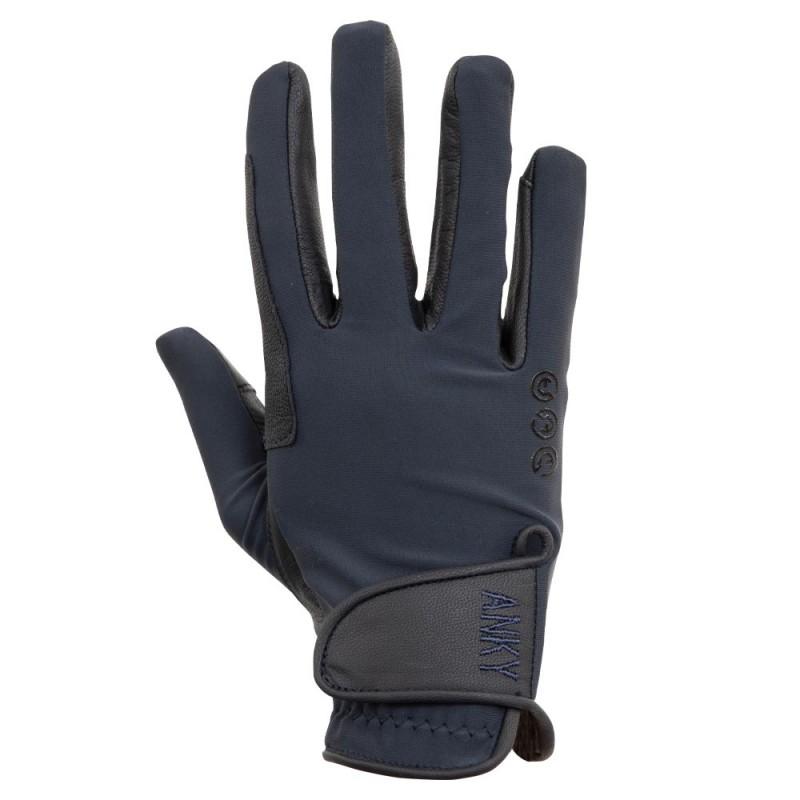Anky handsker læder/lycra