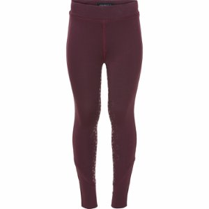 Equipage Tights Deep Berry