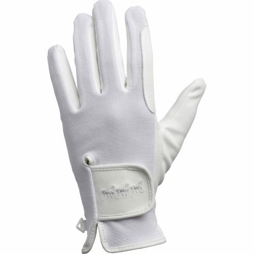 Handsker hvide ACTION STRETCH Voksne