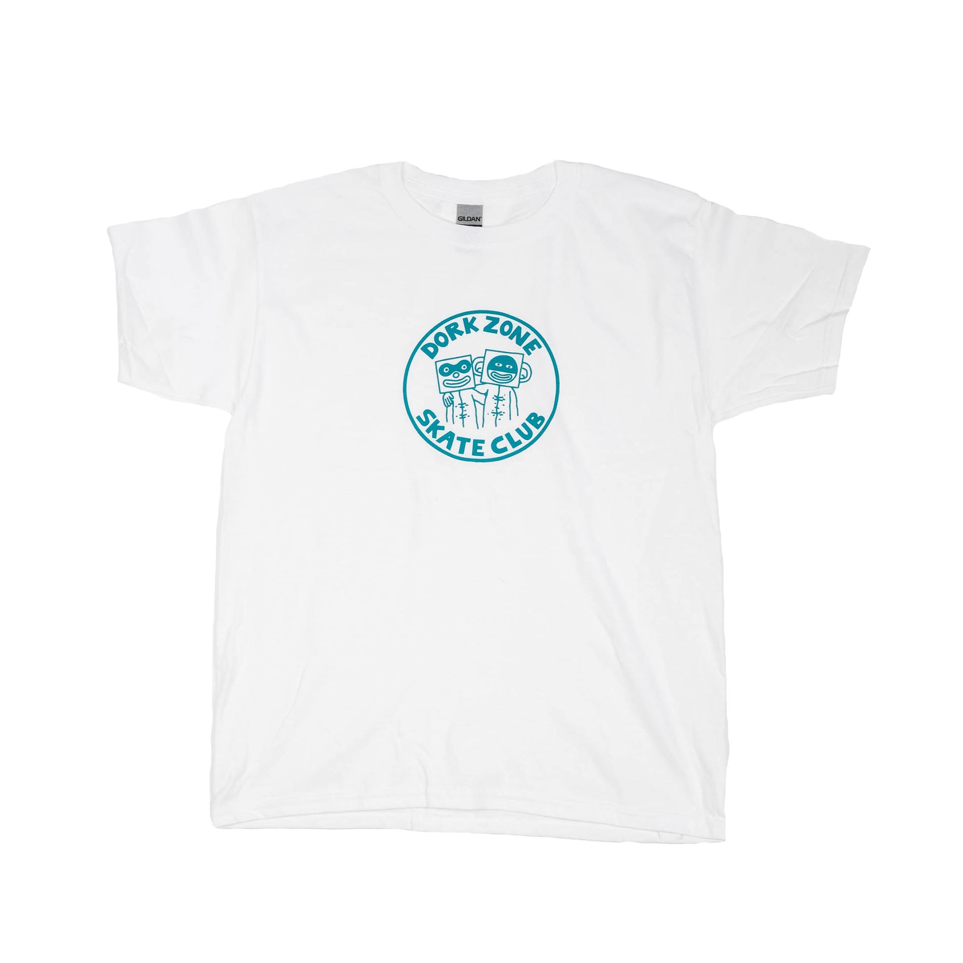 Dorkzone Skate Club Kids T-Shirt White