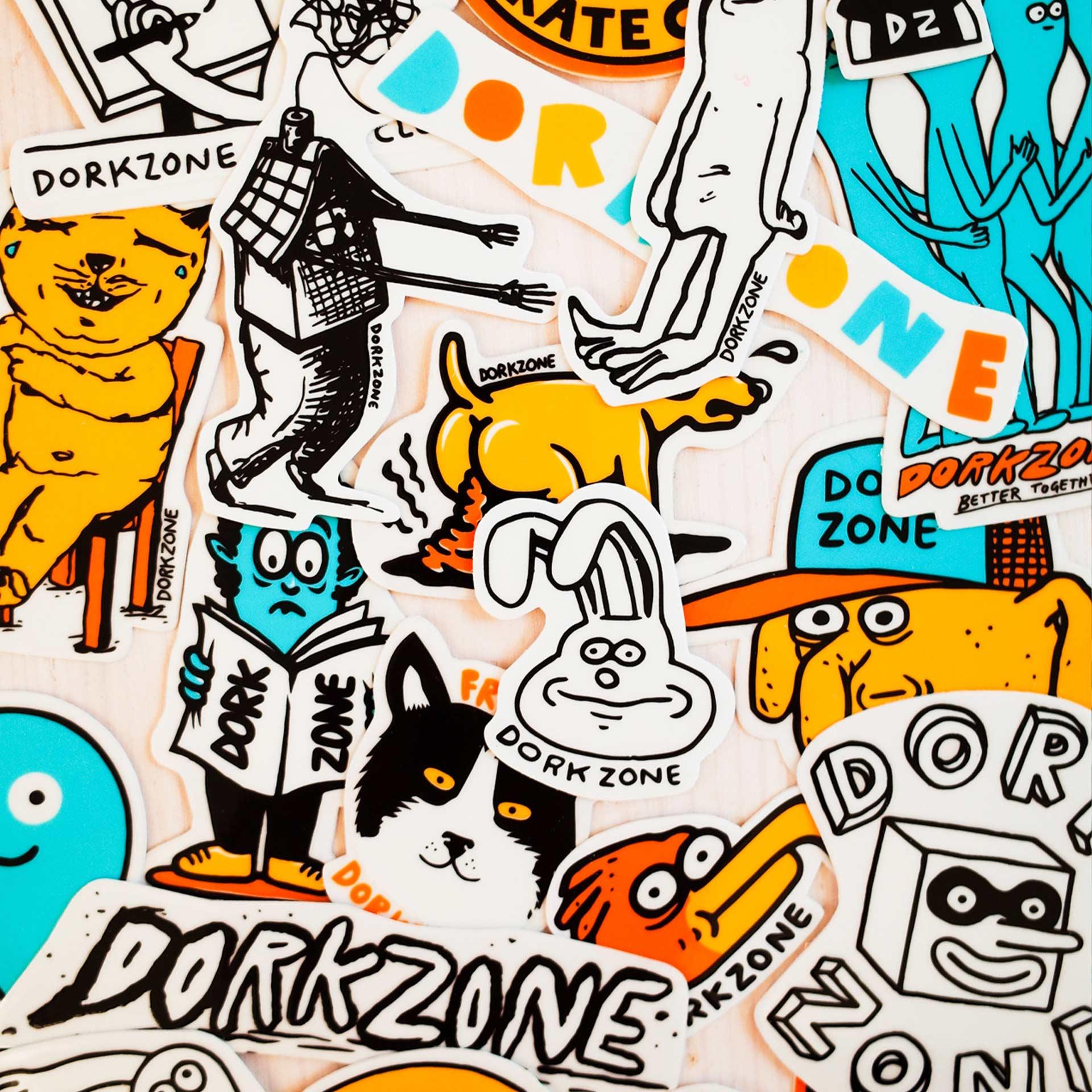 Dorkzone Sticker Pack
