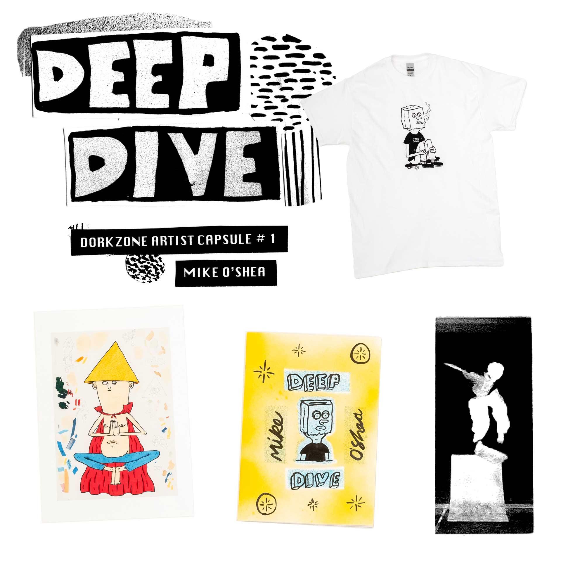 Deep Dive Art Capsule