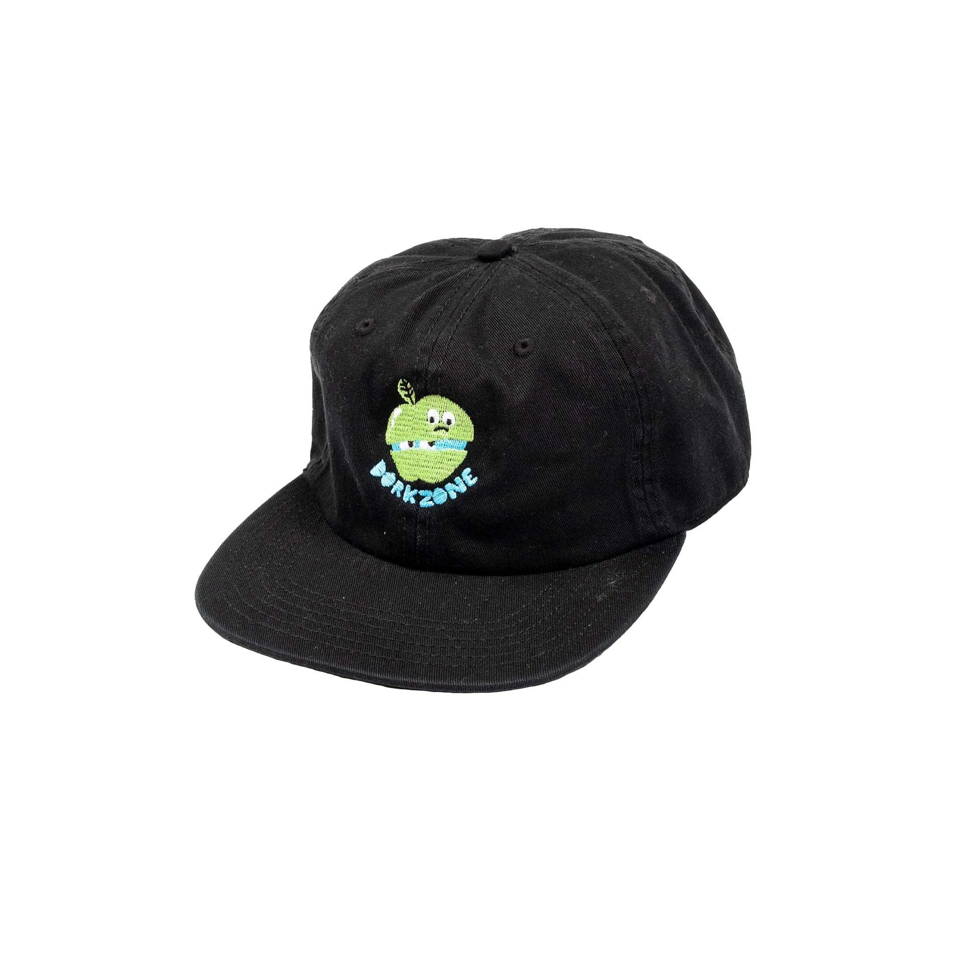 Dorkzone Embroided Apple Cap Black