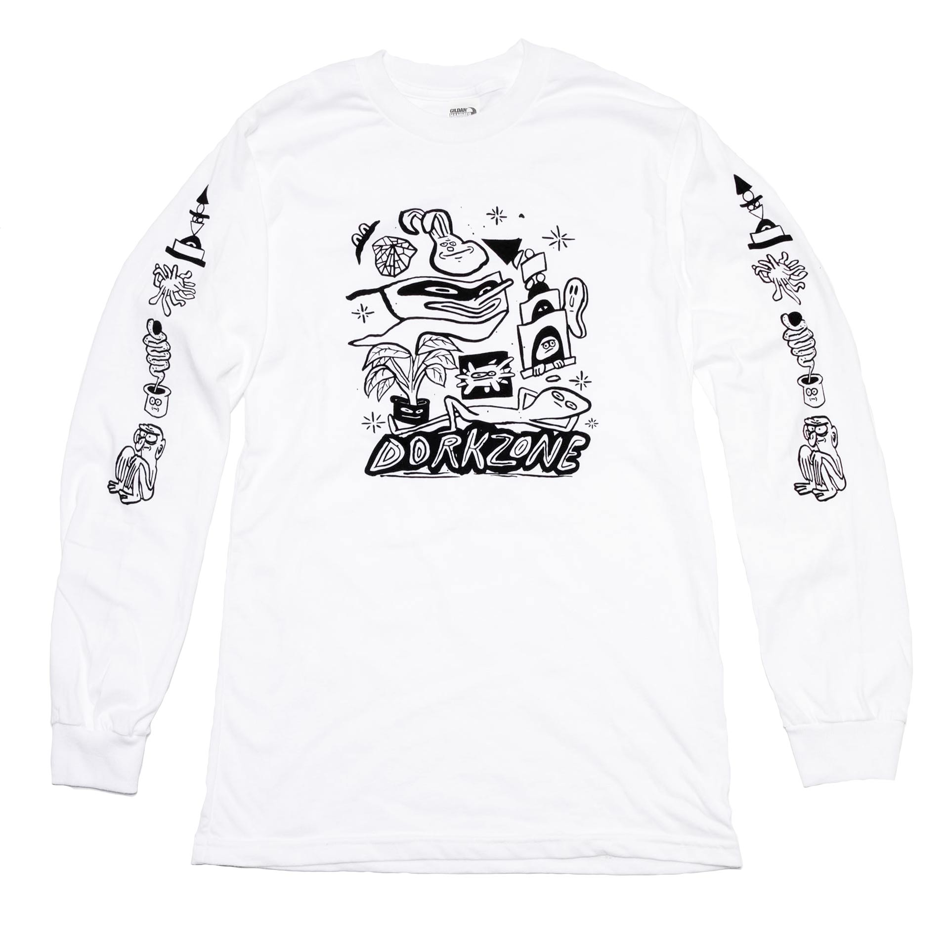 Dorkzone Black Ink Long Sleeve