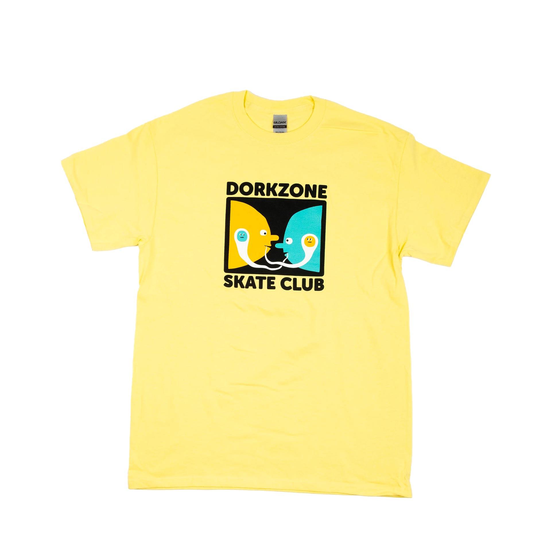 Dorkzone Speech Bubble T-Shirt Cornsilk Yellow