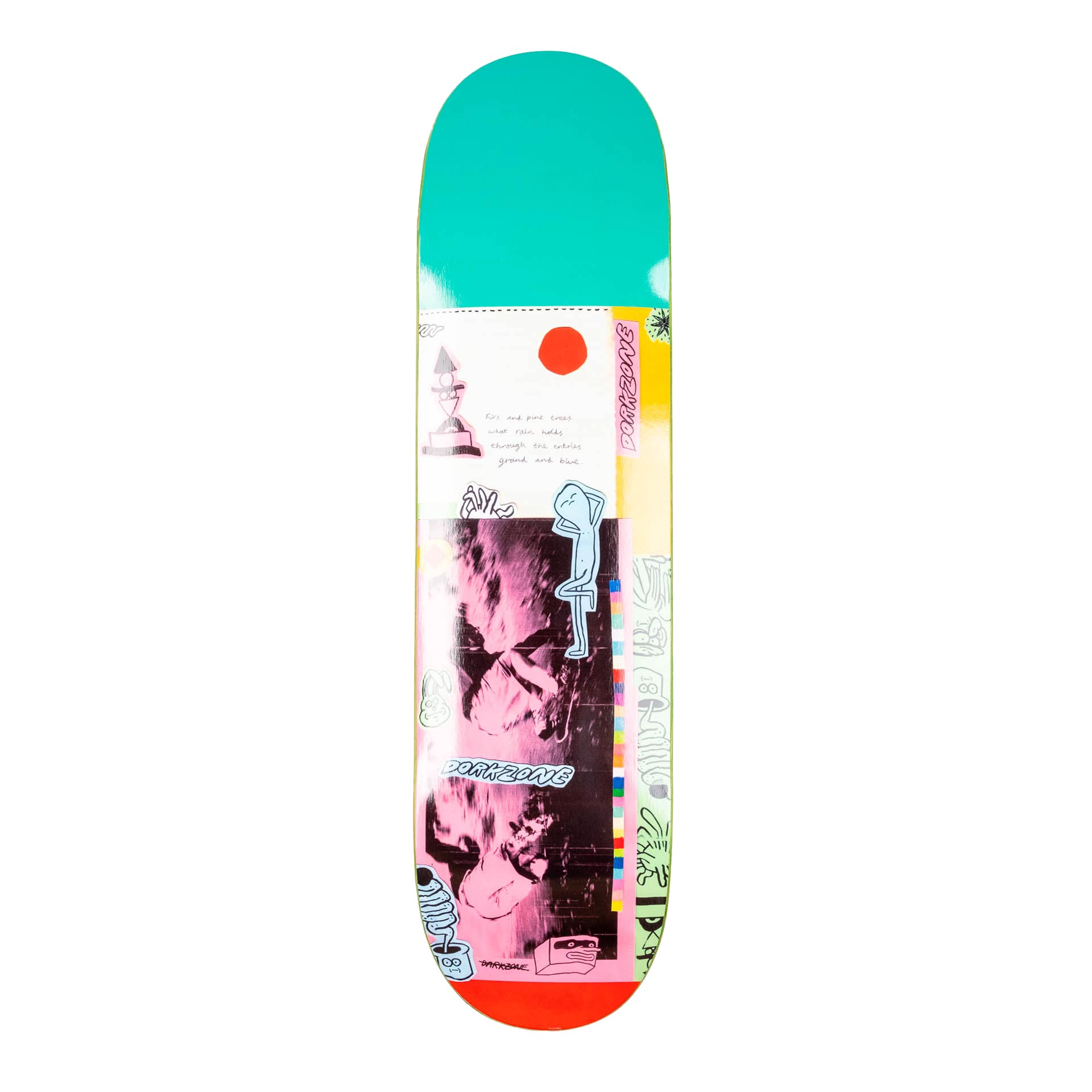 Dorkzone Darkzone Collage Skateboard