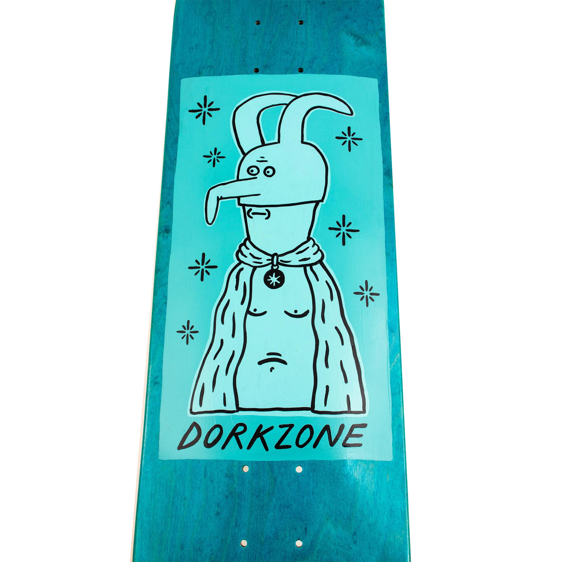 Dorkzone Hand Painted Skateboard