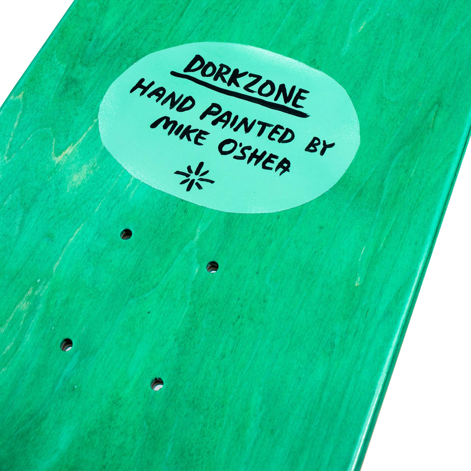 Dorkzone Hand Painted Skateboard