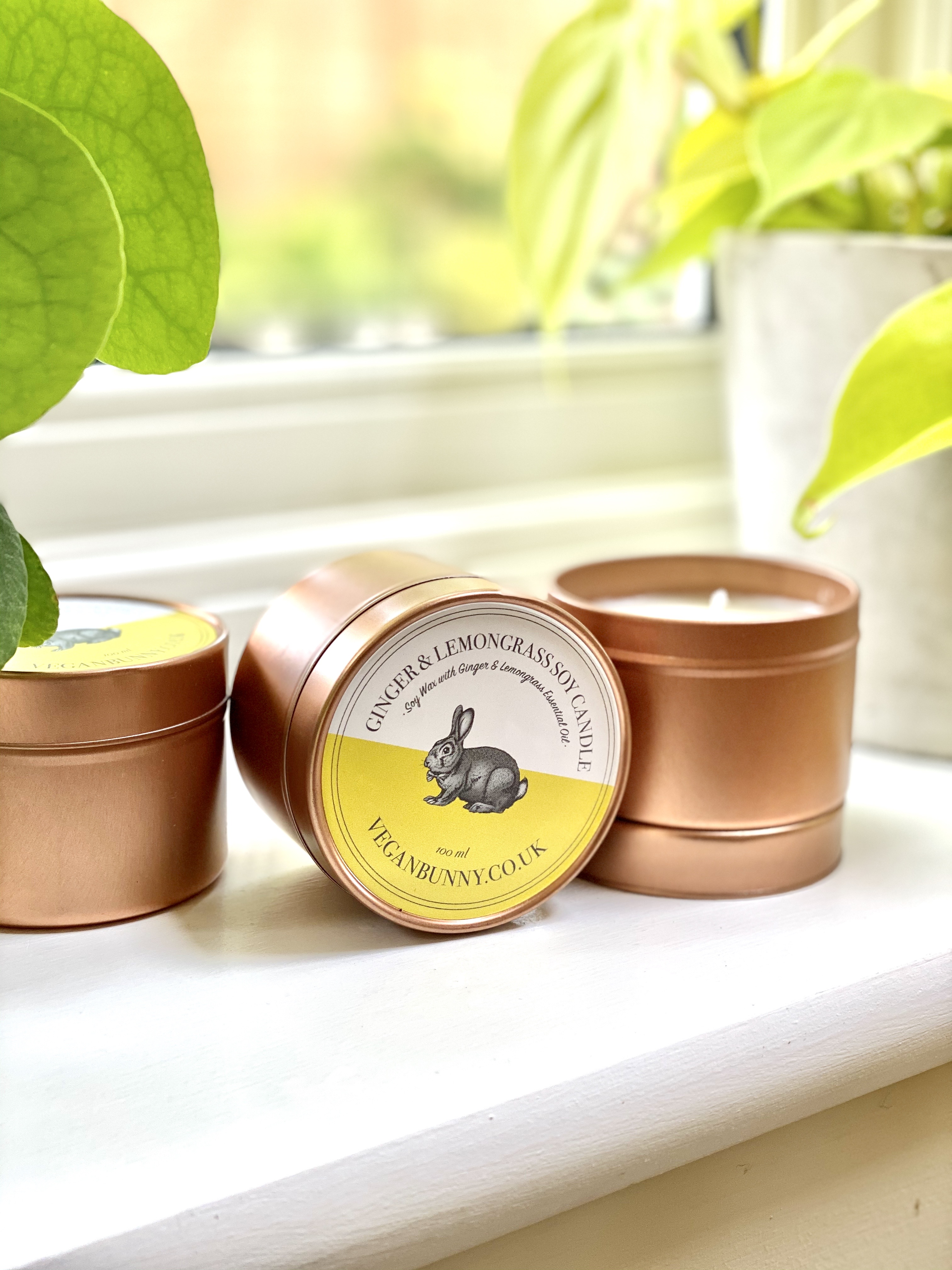 Candles from Vegan Bunny