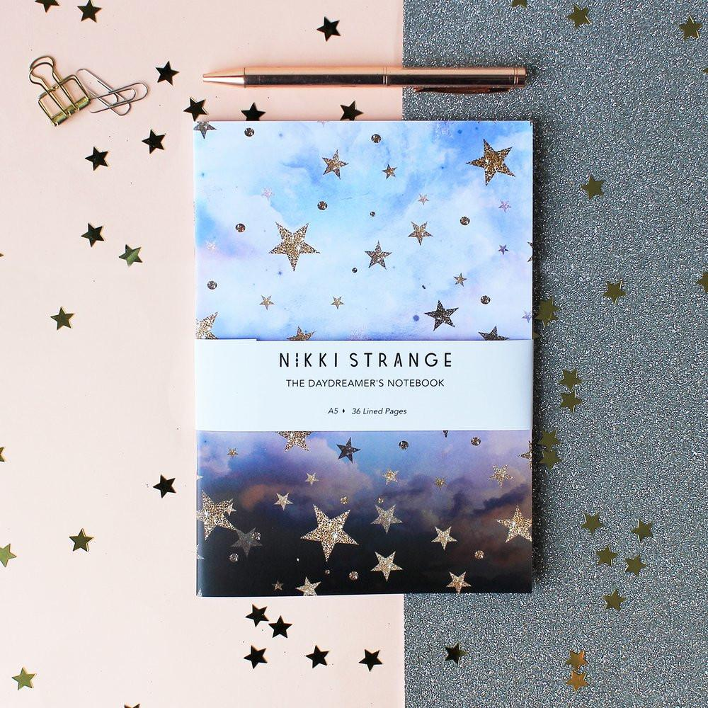 Cloudy Stars Notebook