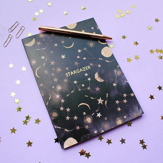 Stargazer Constellation Notebook