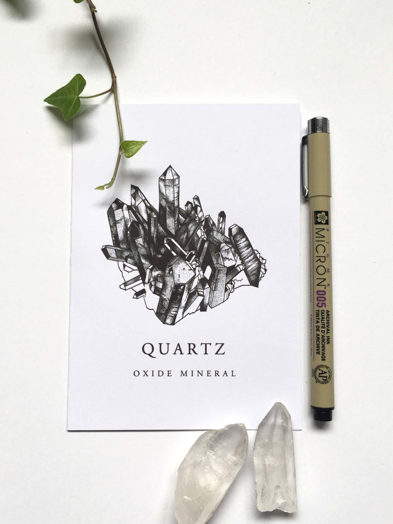 Quartz Crystal Card