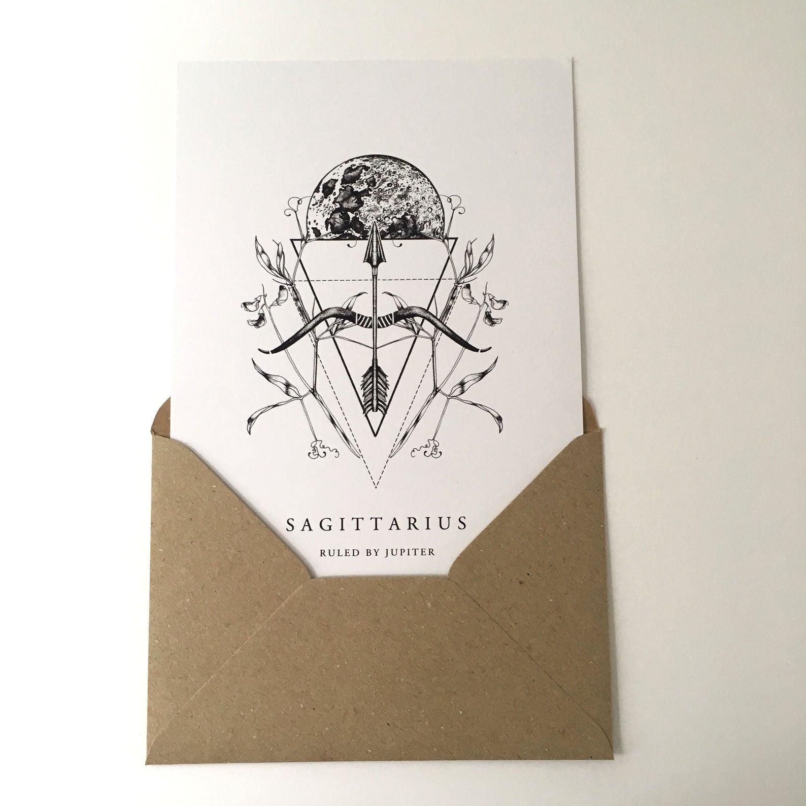Sagittarius Card