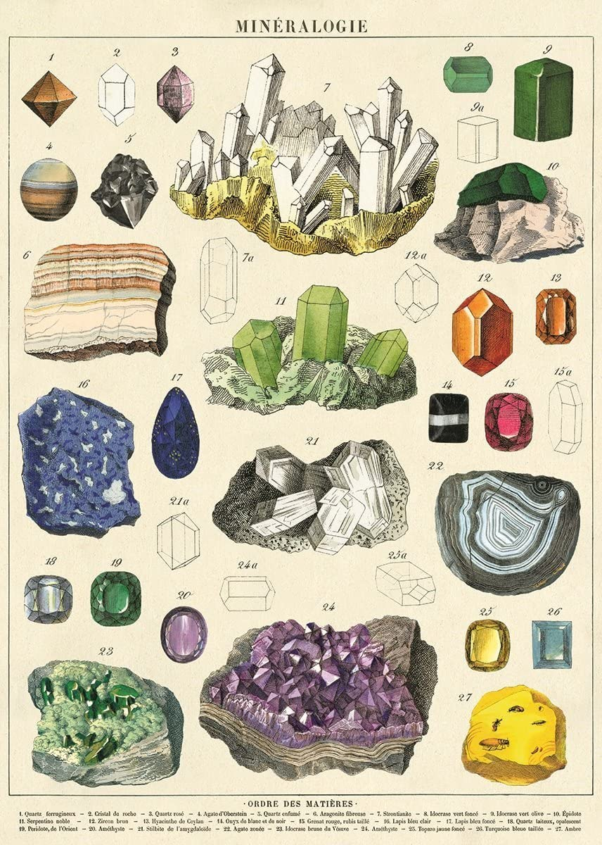 Mineralogie Tea Towel