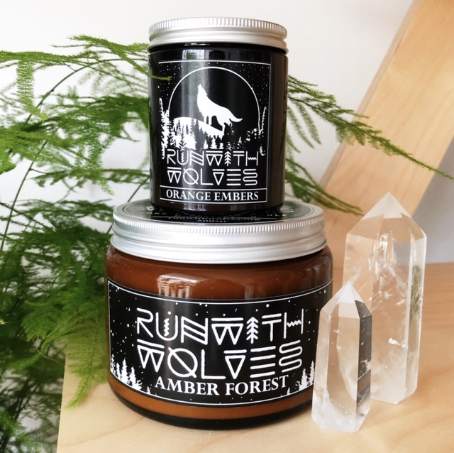 Run With Wolves Candles