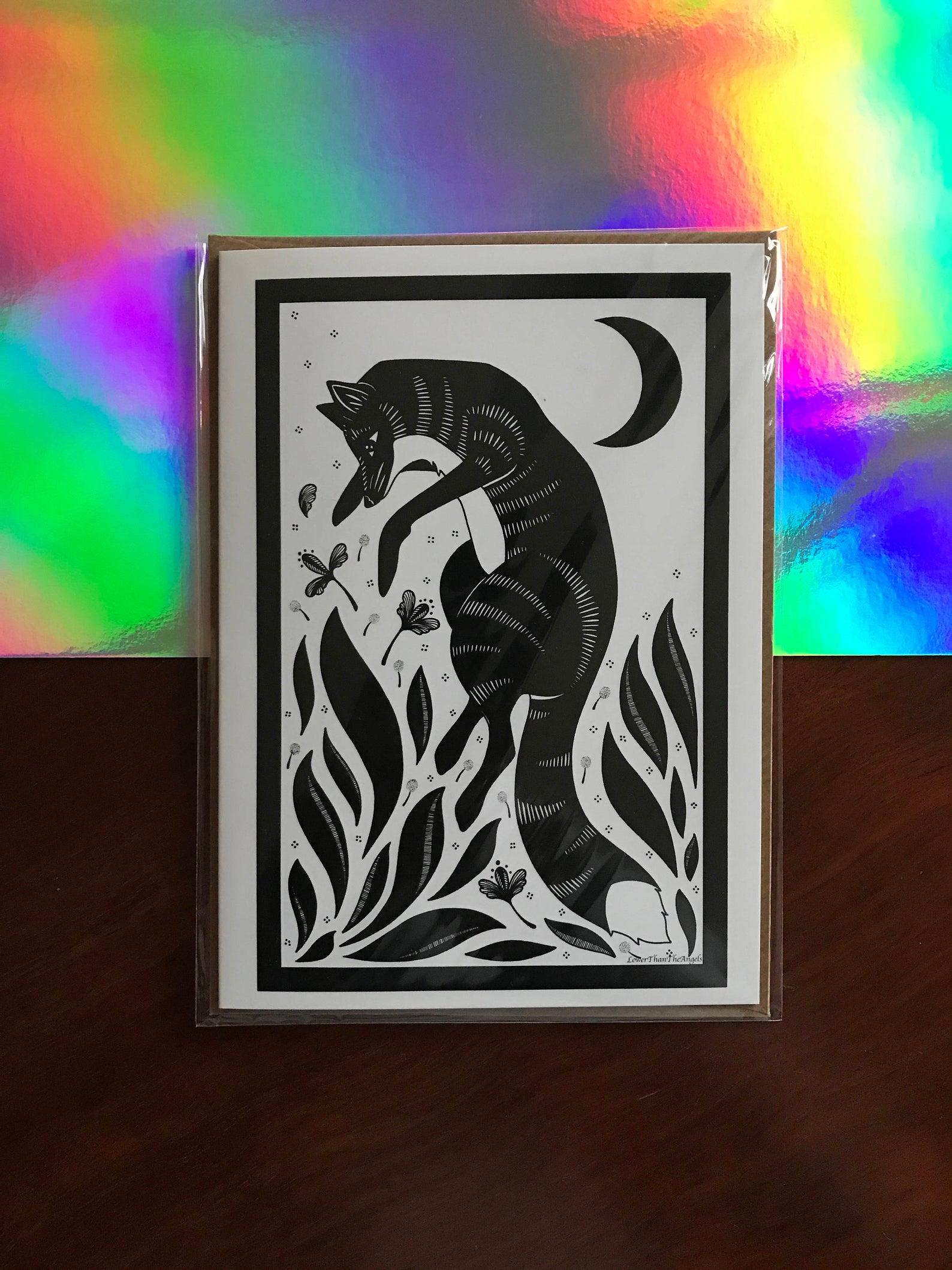 Kitsune Card