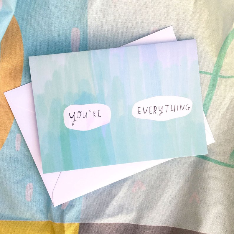 SALE: You're Everything Card
