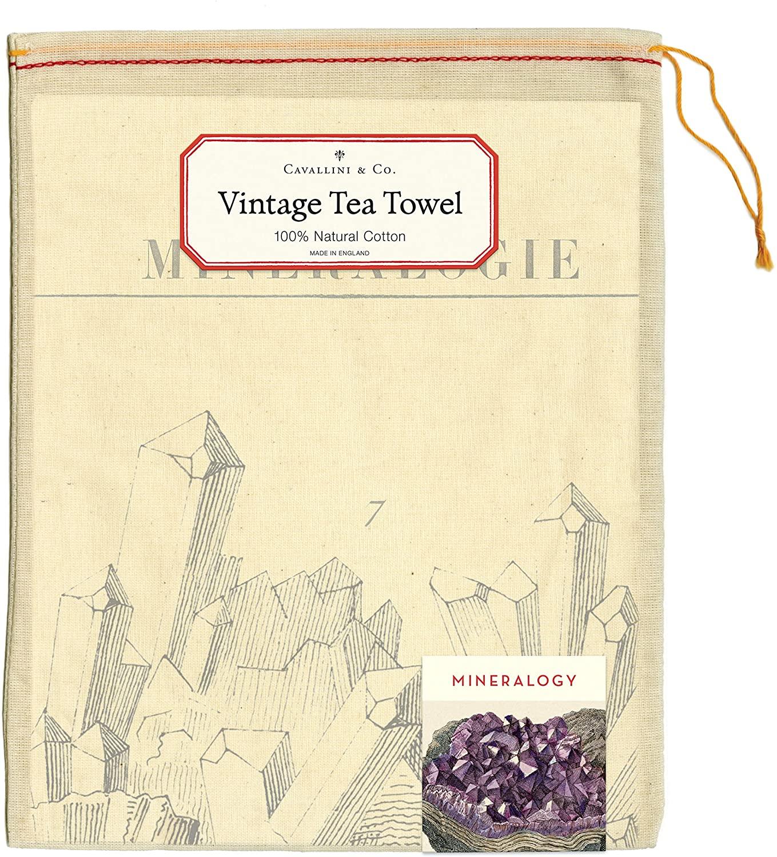 Mineralogie Tea Towel