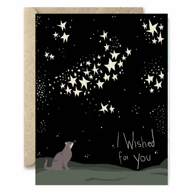 I Wished For You Card