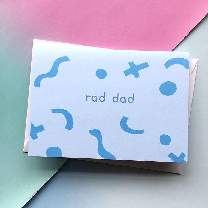 SALE: Rad Dad Card