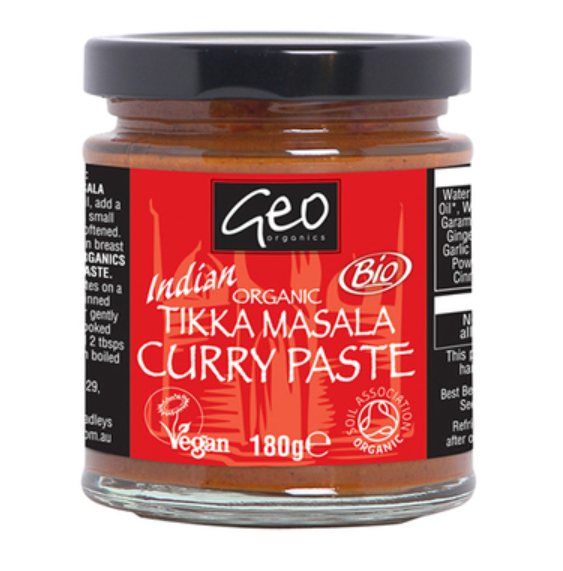 Tikka Masala Curry Paste - Organic (180g)