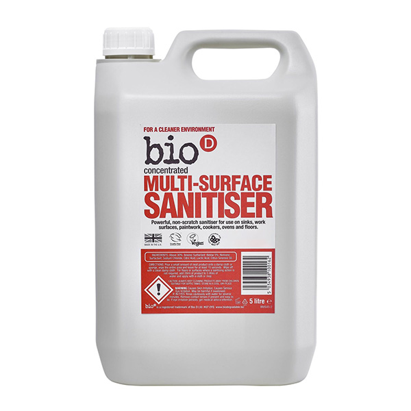 Multi-Surface Sanitiser (concentrated) (BioD) (100ml)