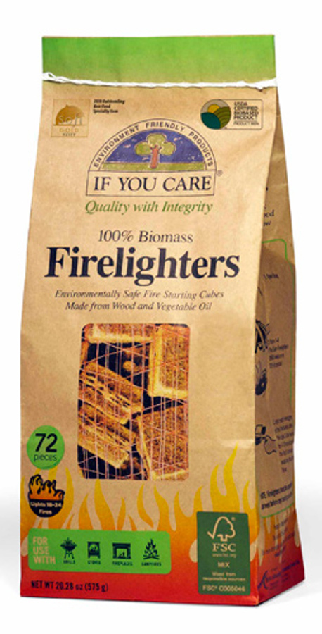 If You Care Firelighters (enviro friendly) 72 Pieces