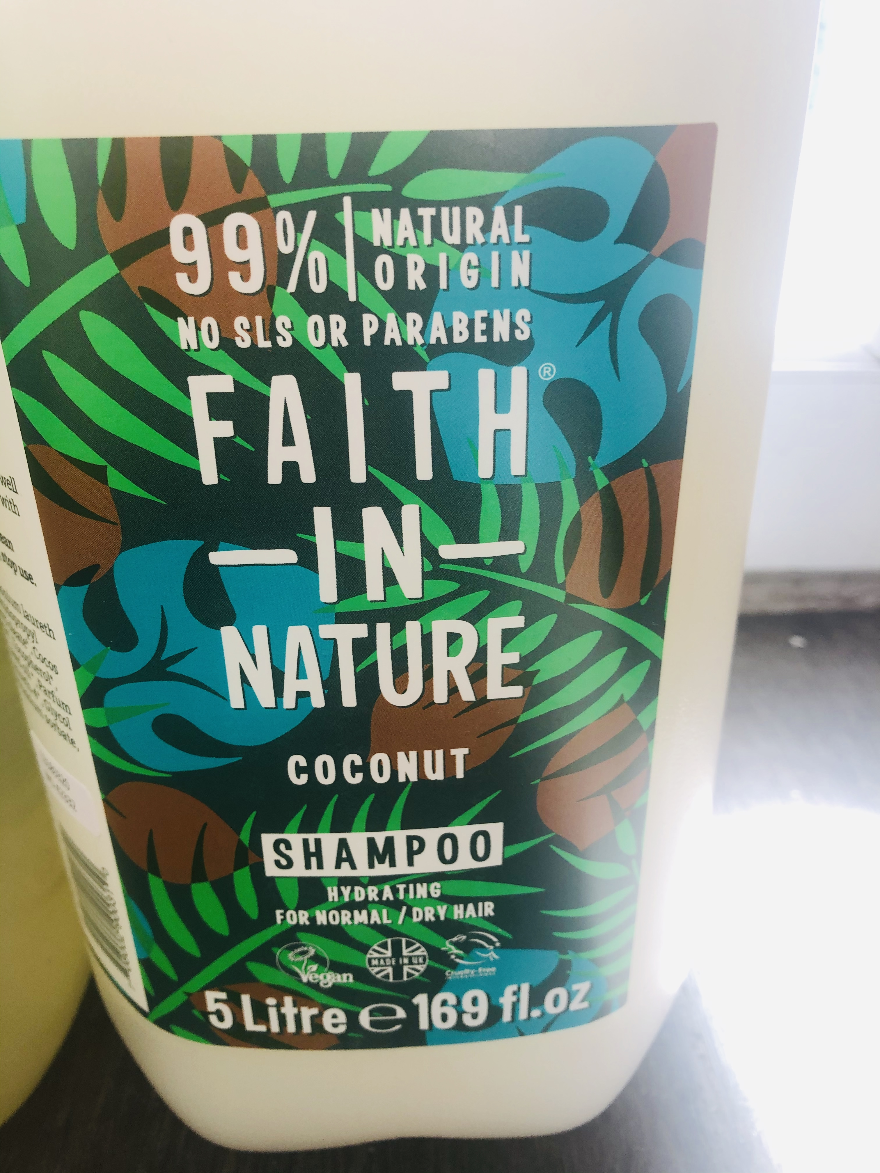 Faith in Nature Liquid Shampoo (100ml) 3 Variants
