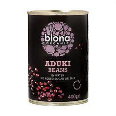 Aduki Beans Organic Tin
