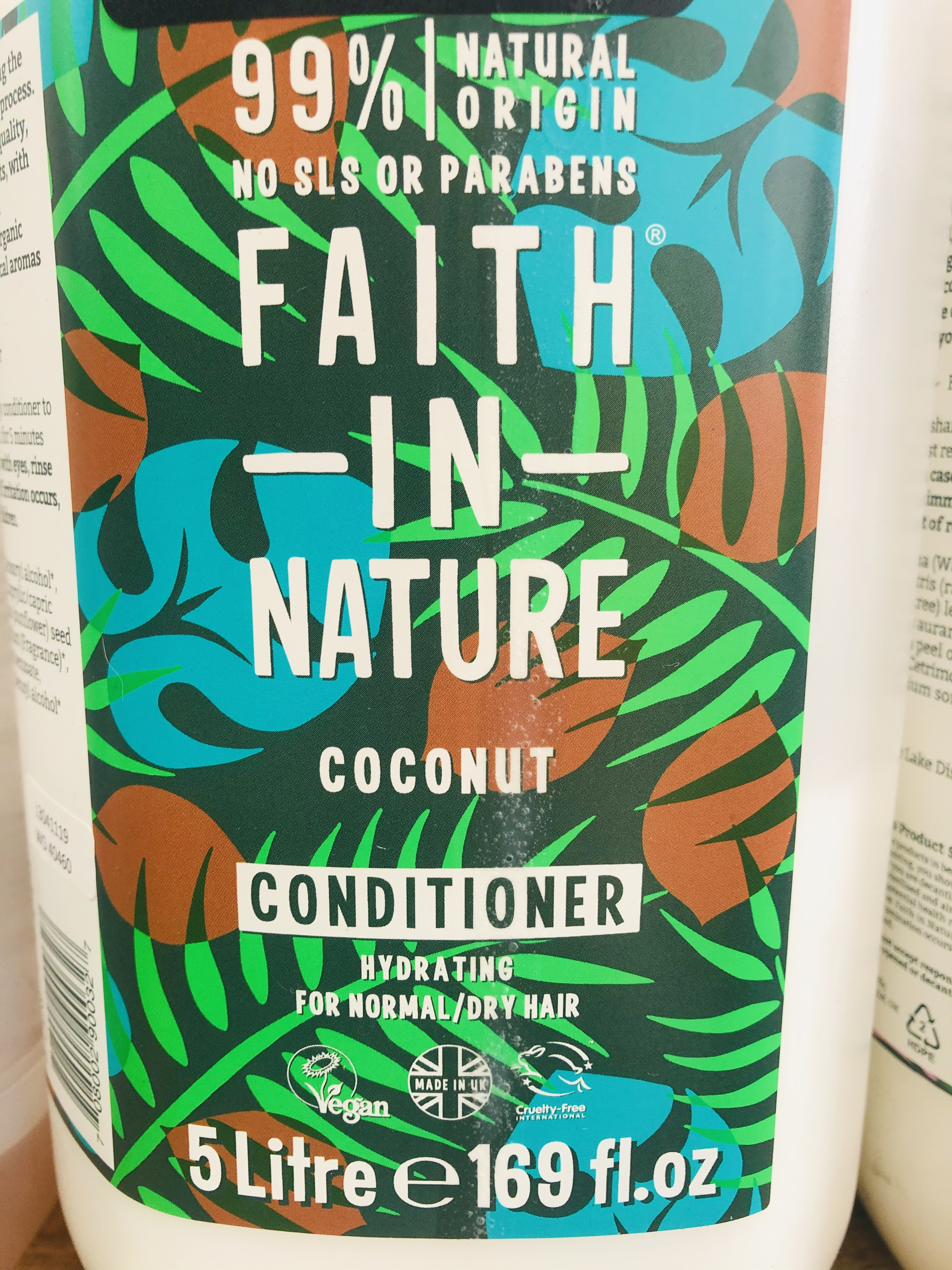 Faith in Nature Liquid Conditioner (100ml) 3 Variants