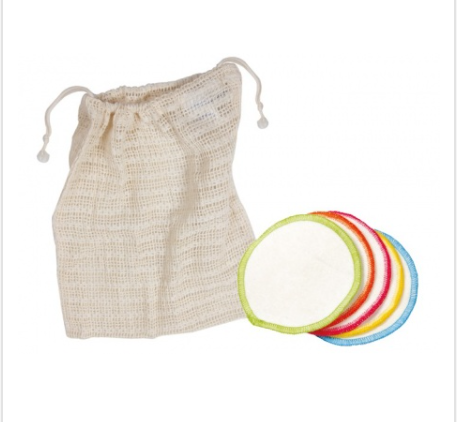 Organic Make Up Remover Wipes & Wash Bag (10)