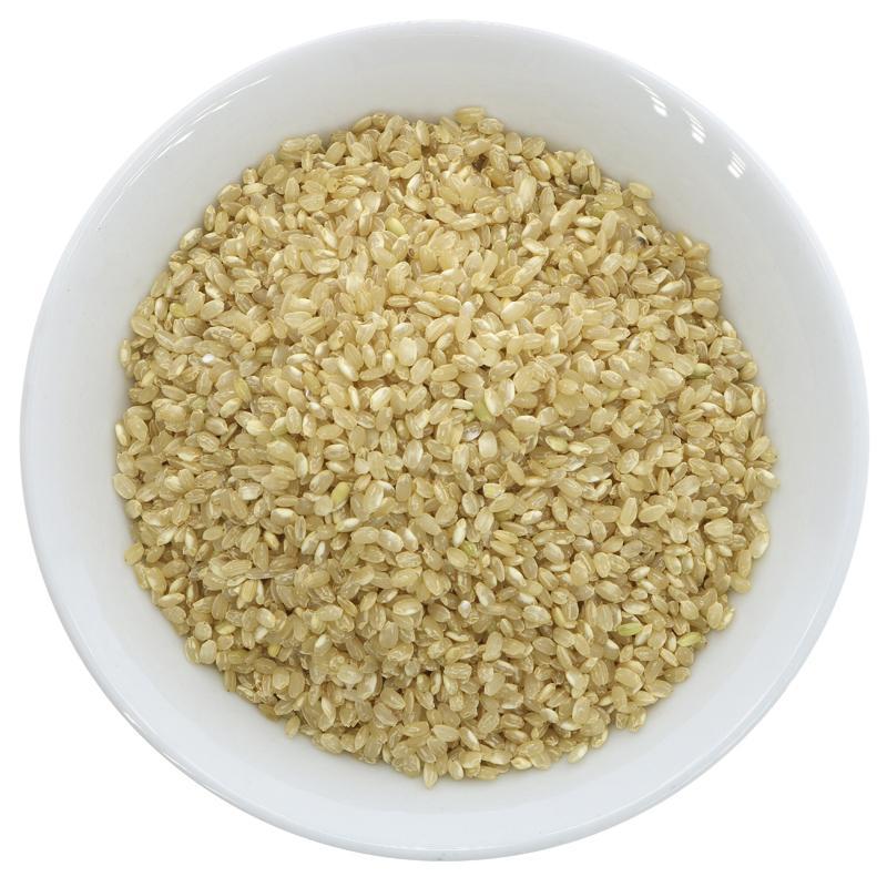 Brown Short Grain Rice Organic