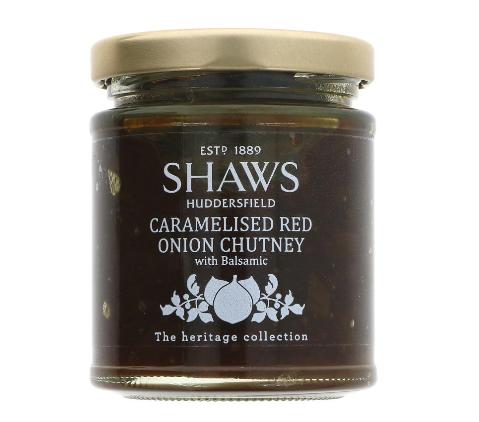 Shaws Caramelised Red Onion Chutney (195g)