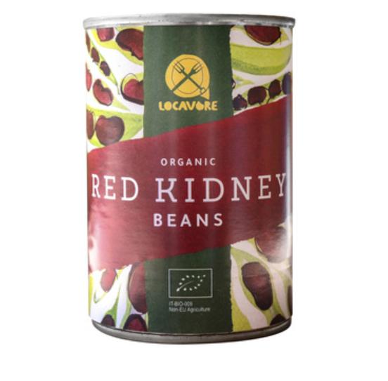 Organic Red Kidney Beans (tin) (400g)
