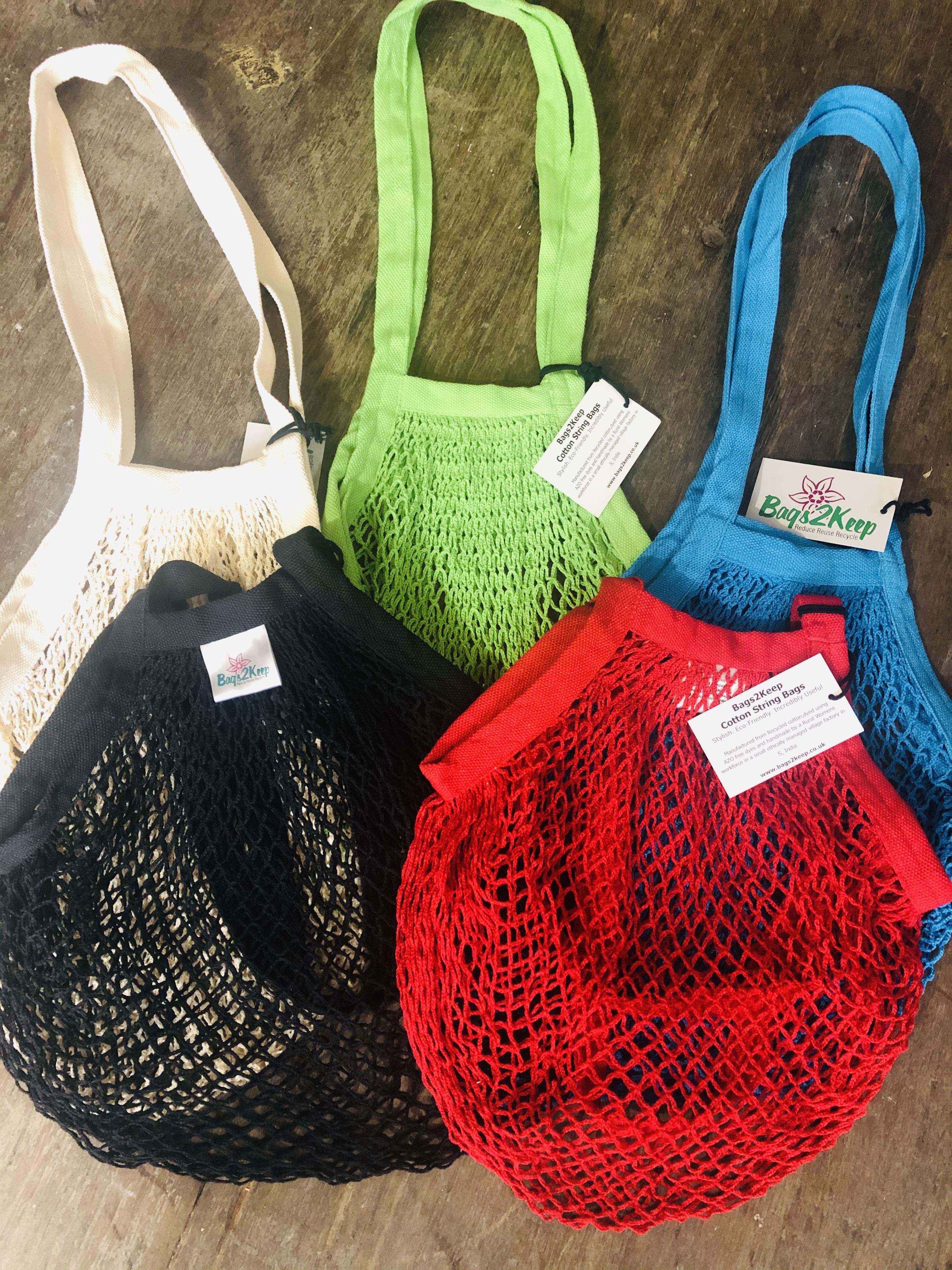 Bag 2 Keep Cotton String Bag