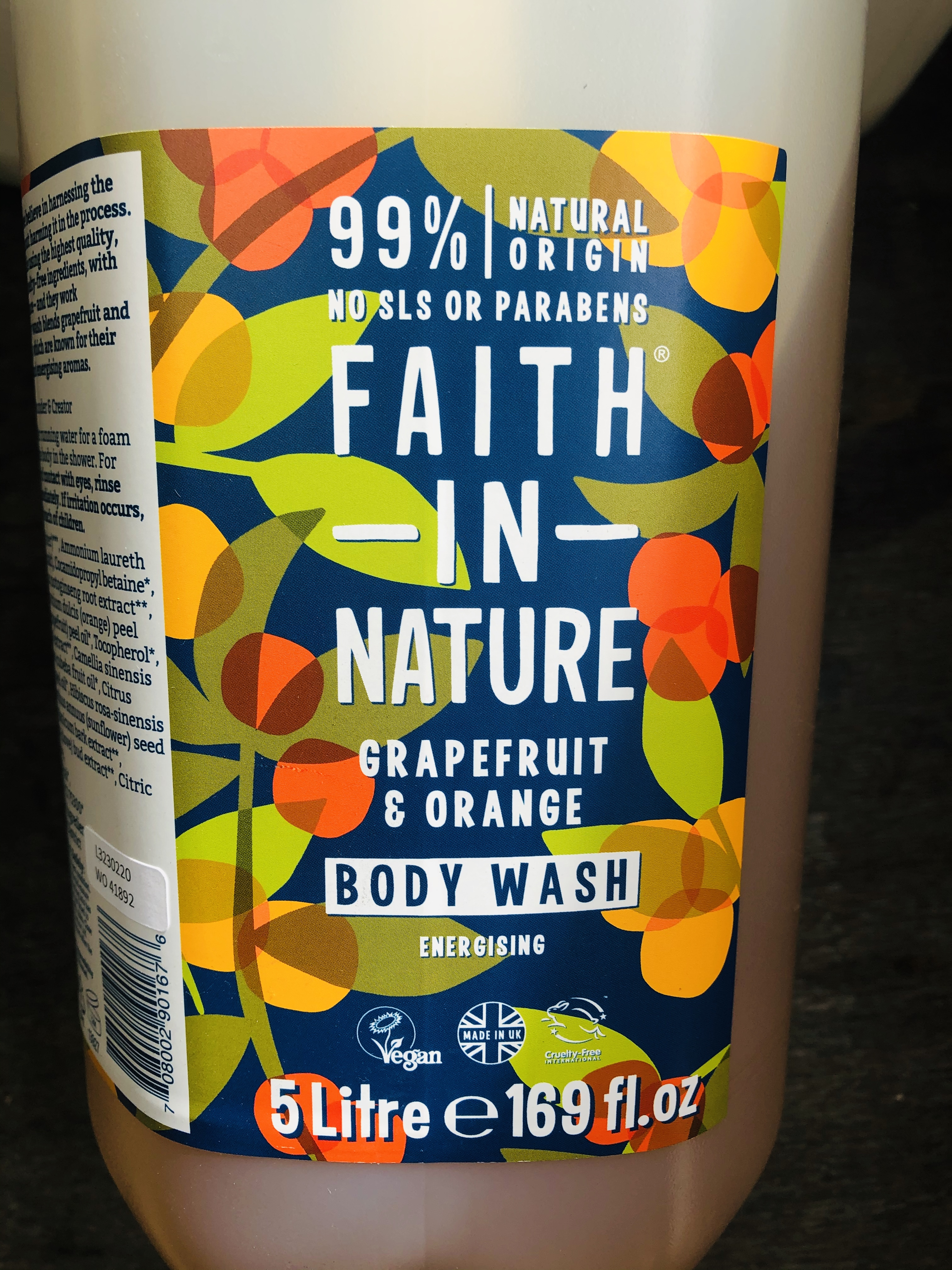 Faith in Nature Body Wash - 2 variants (100ml)