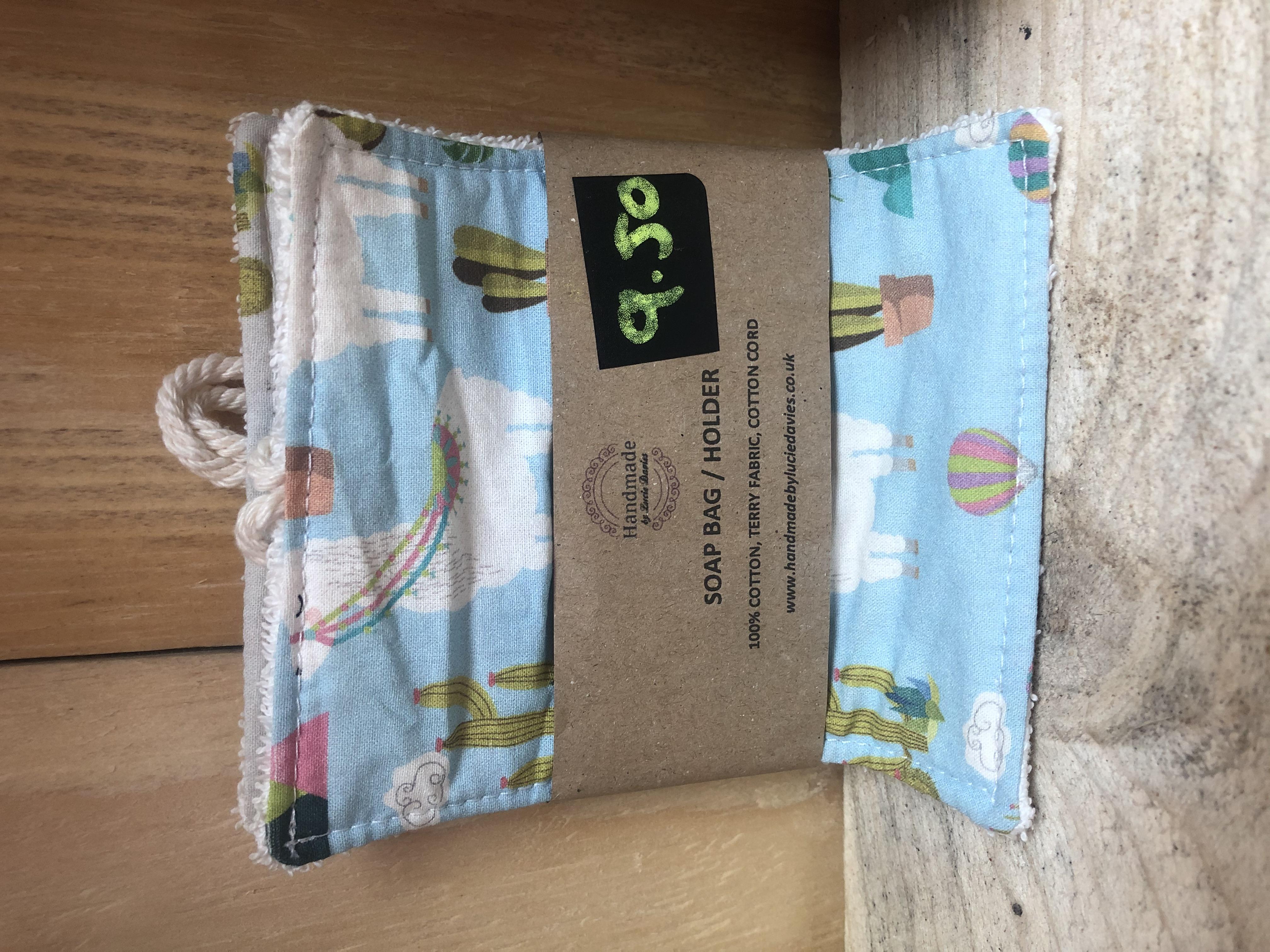 Soap Bag/Holder (Lucie Davies) (Various Designs)