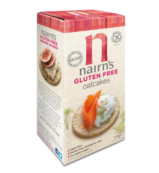 Gluten Free Oatcakes (Nairns)