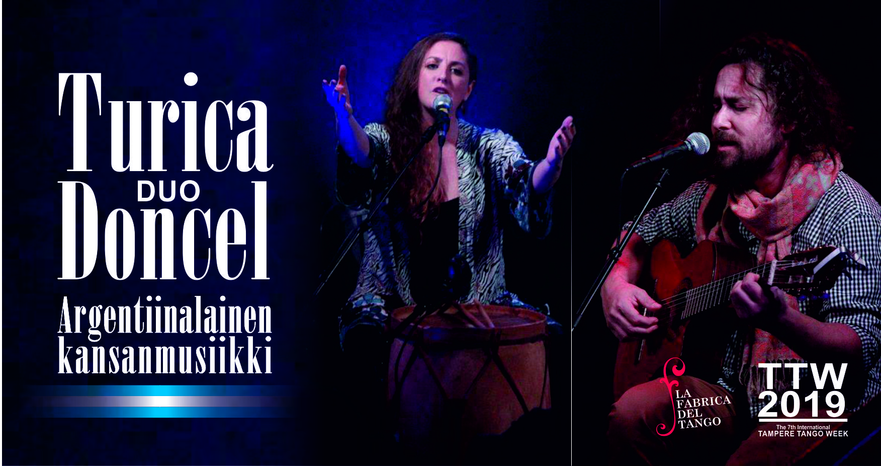 Konsertti Duo Turica-Doncel 17.10.2019