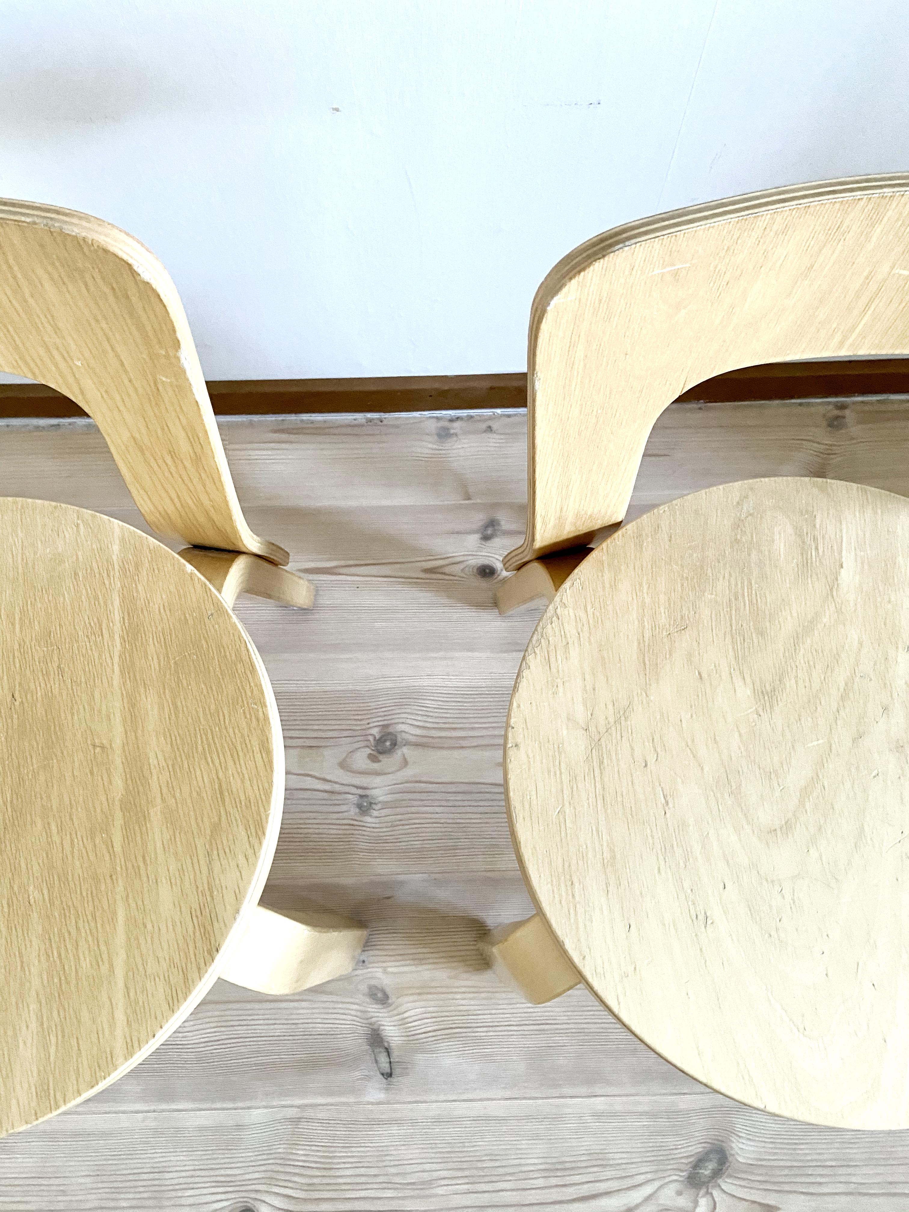 Barnstolar, Alvar Aalto, ett par